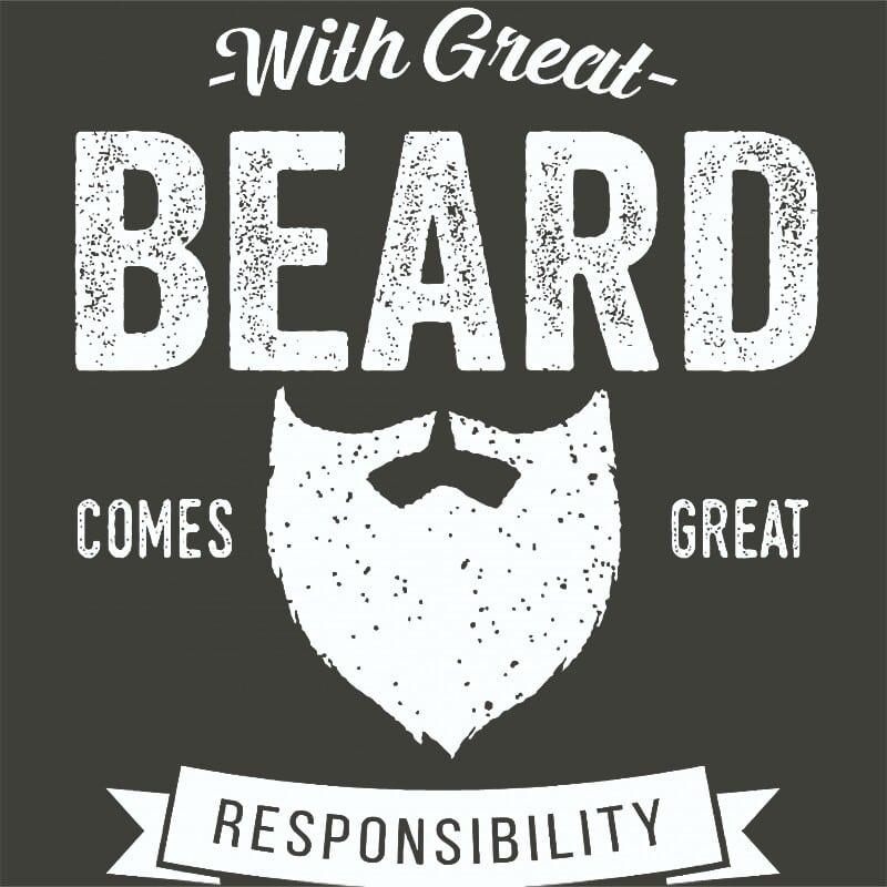 With Great Beard Póló - Ha Beard rajongó ezeket a pólókat tuti imádni fogod!