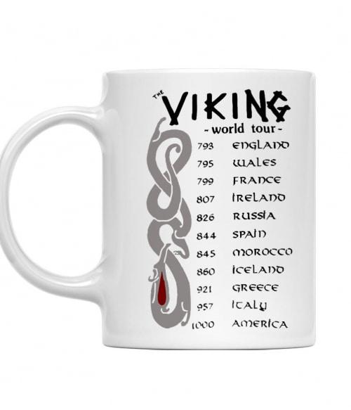 Vikings World Tour Póló - Ha Vikings rajongó ezeket a pólókat tuti imádni fogod!