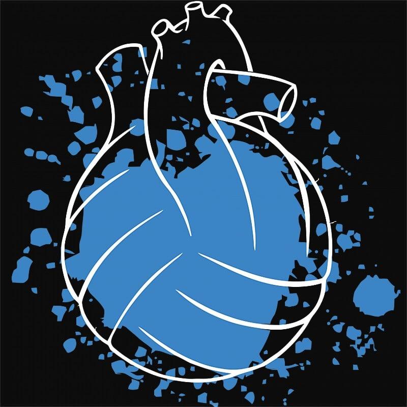 Water polo heart Póló - Ha Water polo rajongó ezeket a pólókat tuti imádni fogod!