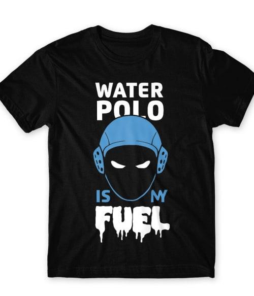 Water polo is my fuel Póló - Ha Water polo rajongó ezeket a pólókat tuti imádni fogod!