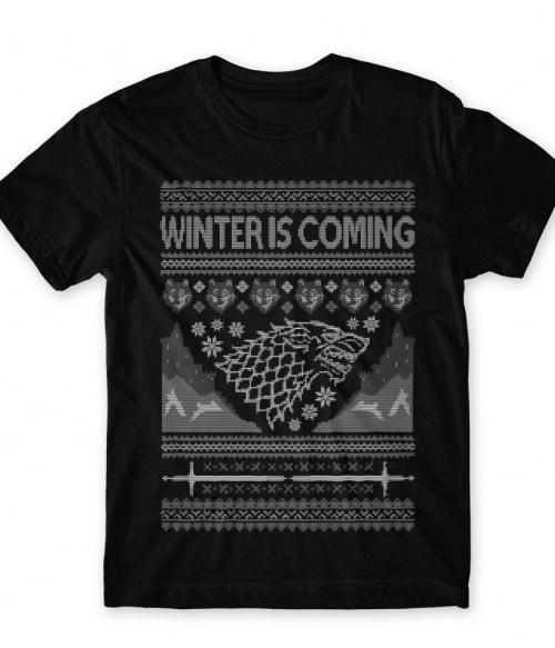 Stark Sweater Póló - Ha Game of Thrones rajongó ezeket a pólókat tuti imádni fogod!
