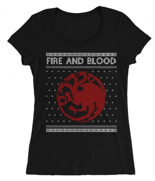 Targaryen Sweater Póló - Ha Game of Thrones rajongó ezeket a pólókat tuti imádni fogod!