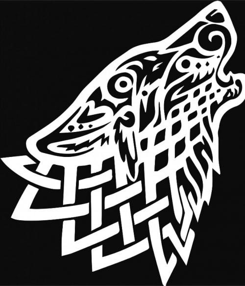 Celtic wolf Póló - Ha Vikings rajongó ezeket a pólókat tuti imádni fogod!