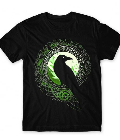 Viking raven Póló - Ha Vikings rajongó ezeket a pólókat tuti imádni fogod!
