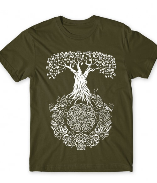 Viking tree Póló - Ha Vikings rajongó ezeket a pólókat tuti imádni fogod!