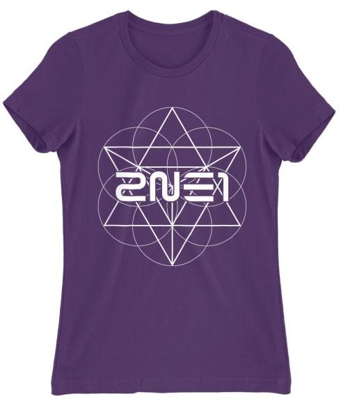 2ne1 Geometric Póló - Ha K-Pop rajongó ezeket a pólókat tuti imádni fogod!
