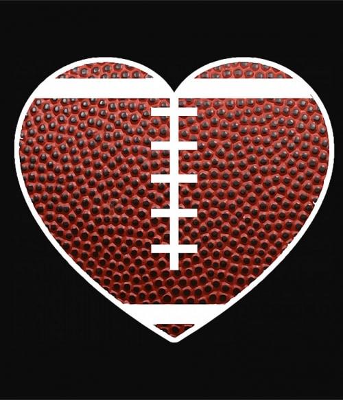 American Football Love Póló - Ha American Football rajongó ezeket a pólókat tuti imádni fogod!