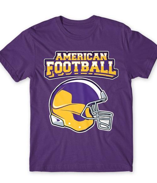 American Football Vikings Póló - Ha American Football rajongó ezeket a pólókat tuti imádni fogod!