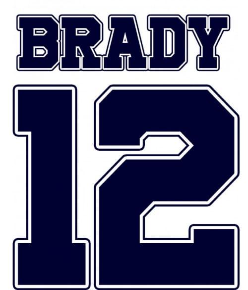 Brady number Póló - Ha American Football rajongó ezeket a pólókat tuti imádni fogod!