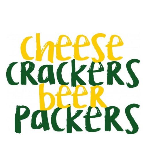 Cheese crackers Póló - Ha American Football rajongó ezeket a pólókat tuti imádni fogod!