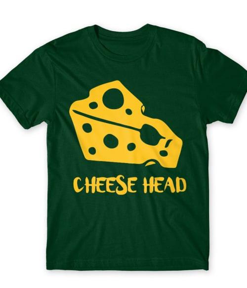 Cheese head Póló - Ha American Football rajongó ezeket a pólókat tuti imádni fogod!