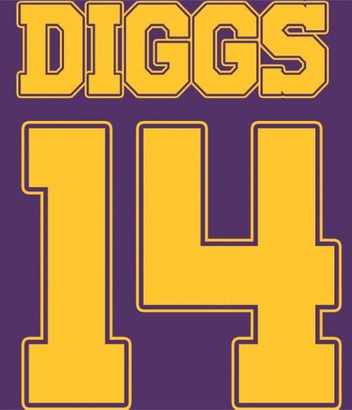 Diggs Póló - Ha American Football rajongó ezeket a pólókat tuti imádni fogod!