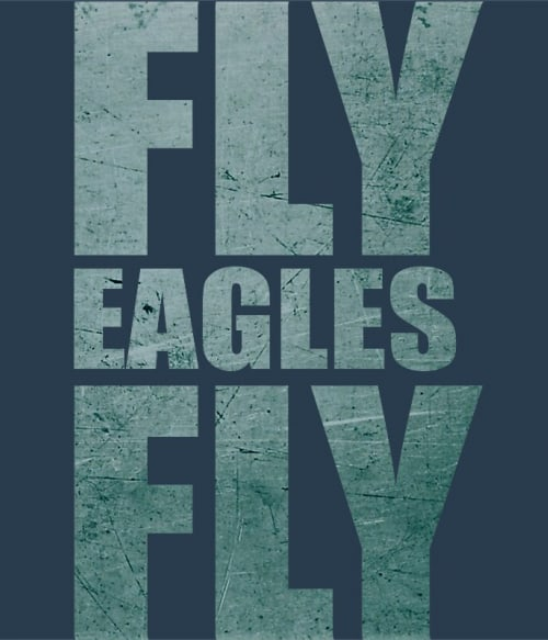 Fly Eagles Póló - Ha American Football rajongó ezeket a pólókat tuti imádni fogod!