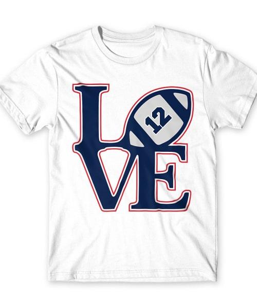 Patriots love Póló - Ha American Football rajongó ezeket a pólókat tuti imádni fogod!