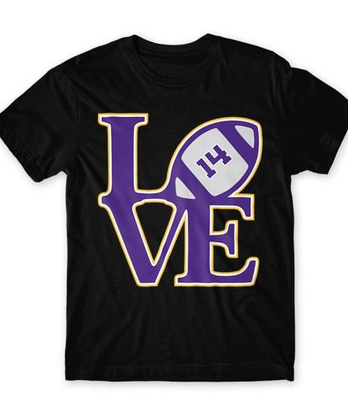 Vikings love Póló - Ha American Football rajongó ezeket a pólókat tuti imádni fogod!