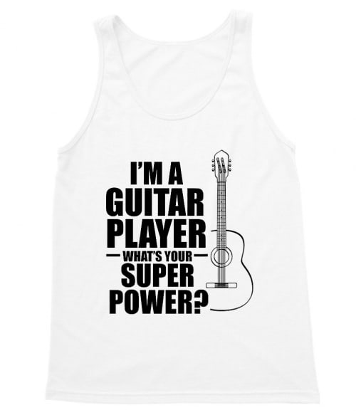 Guitar superpower Póló - Ha Instrument rajongó ezeket a pólókat tuti imádni fogod!