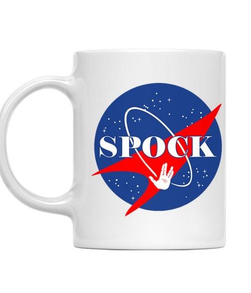 Spock nasa logo Póló - Ha Star Trek rajongó ezeket a pólókat tuti imádni fogod!