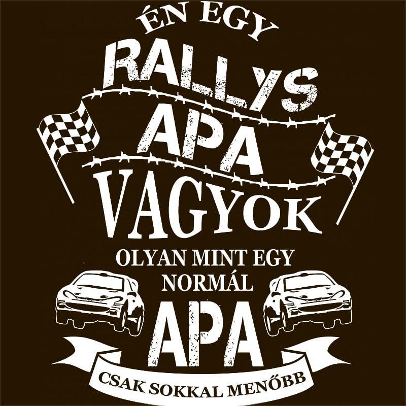 Rallys Apa Póló - Ha Rally rajongó ezeket a pólókat tuti imádni fogod!