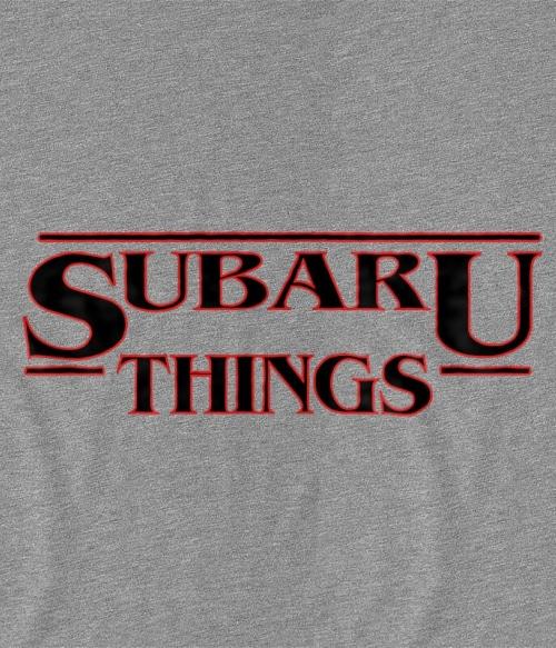 Subaru Things Póló - Ha Rally rajongó ezeket a pólókat tuti imádni fogod!
