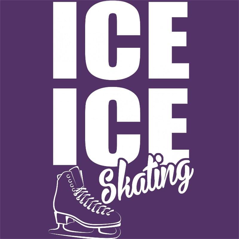 Ice ice skating Póló - Ha Ice Skate rajongó ezeket a pólókat tuti imádni fogod!