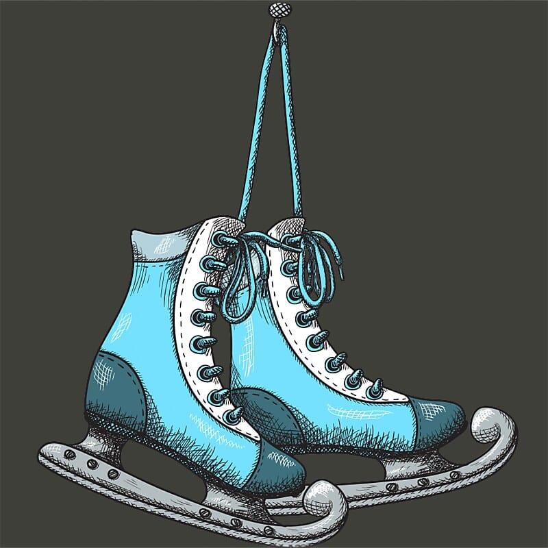 Ice skate Póló - Ha Ice Skate rajongó ezeket a pólókat tuti imádni fogod!