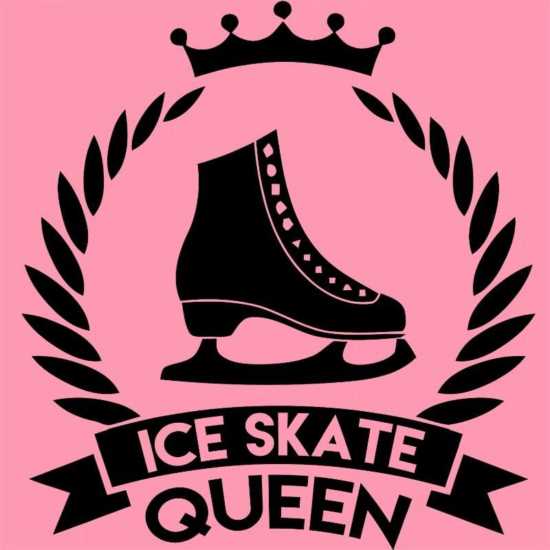 Ice skate queen Póló - Ha Ice Skate rajongó ezeket a pólókat tuti imádni fogod!