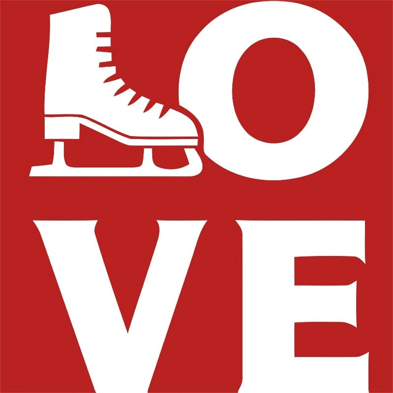 Skating love Póló - Ha Ice Skate rajongó ezeket a pólókat tuti imádni fogod!