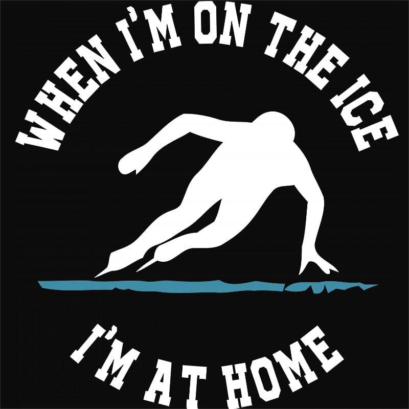 When I'm on the ice Póló - Ha Ice Skate rajongó ezeket a pólókat tuti imádni fogod!