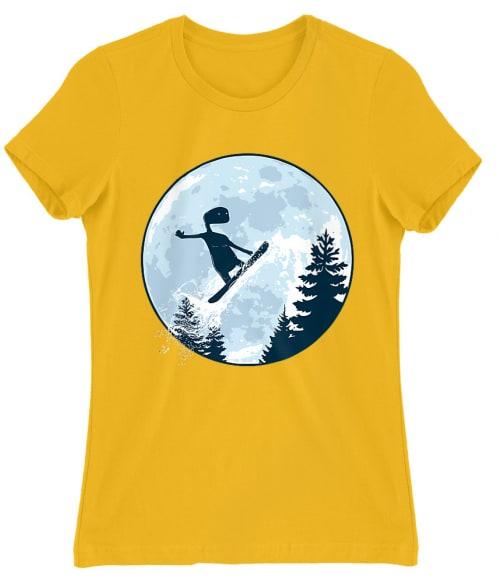 ET Moon Snowboard Póló - Ha Ski rajongó ezeket a pólókat tuti imádni fogod!