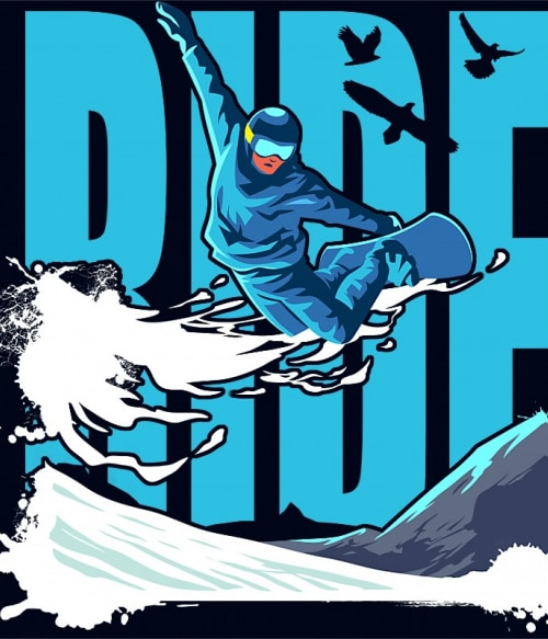Ride Snowboard Póló - Ha Ski rajongó ezeket a pólókat tuti imádni fogod!