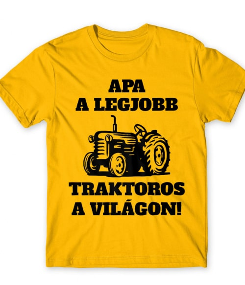 Apa a legjobb traktoros Póló - Ha Tractor rajongó ezeket a pólókat tuti imádni fogod!