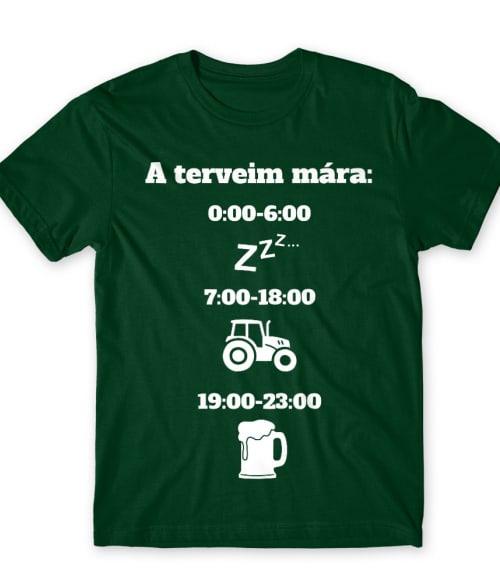 Terveim mára Póló - Ha Tractor rajongó ezeket a pólókat tuti imádni fogod!