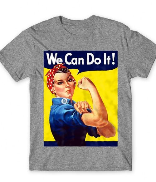We Can Do It Póló - Ha Soldier rajongó ezeket a pólókat tuti imádni fogod!