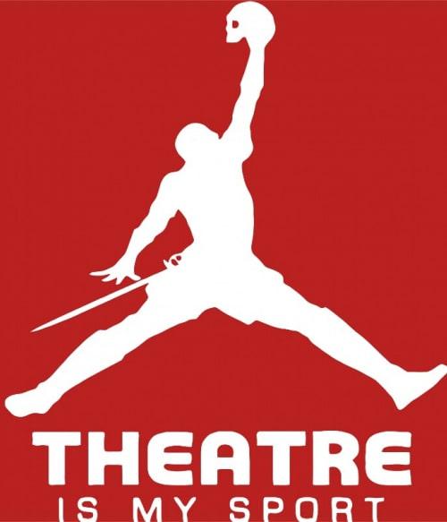 Hamlet sport Póló - Ha Theatre rajongó ezeket a pólókat tuti imádni fogod!