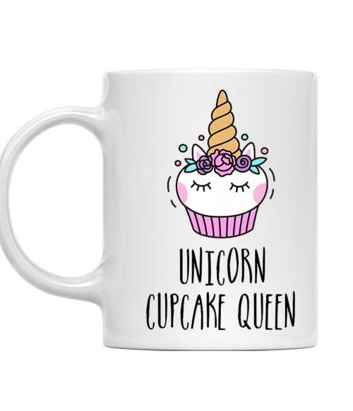 Unicorn cupcake queen Póló - Ha Confectionery rajongó ezeket a pólókat tuti imádni fogod!