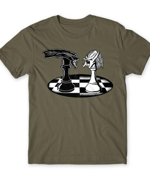 Alien vs. Predator Chess Póló - Ha Chess rajongó ezeket a pólókat tuti imádni fogod!
