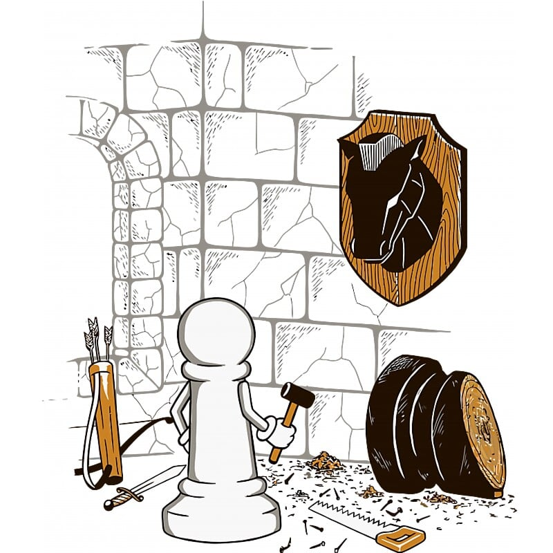 Chess Hunter Póló - Ha Chess rajongó ezeket a pólókat tuti imádni fogod!