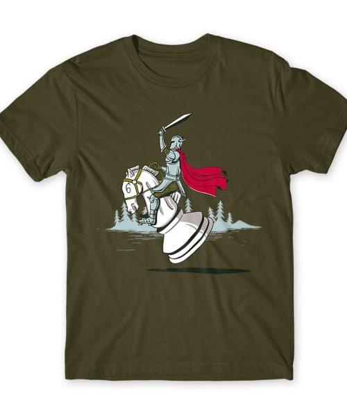 Knight Chess Póló - Ha Chess rajongó ezeket a pólókat tuti imádni fogod!