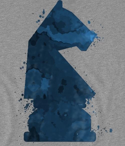 Knight Chess Piece Póló - Ha Chess rajongó ezeket a pólókat tuti imádni fogod!
