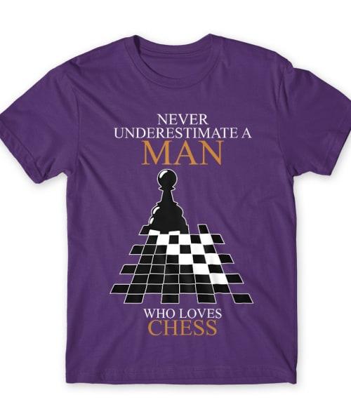 A Man who loves chess Póló - Ha Chess rajongó ezeket a pólókat tuti imádni fogod!