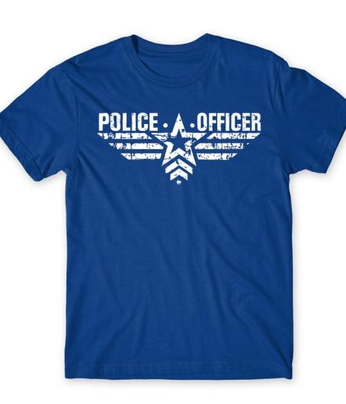 Police Officer Póló - Ha Police rajongó ezeket a pólókat tuti imádni fogod!