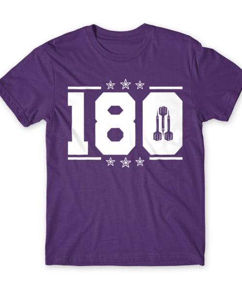 180 Póló - Ha Darts rajongó ezeket a pólókat tuti imádni fogod!