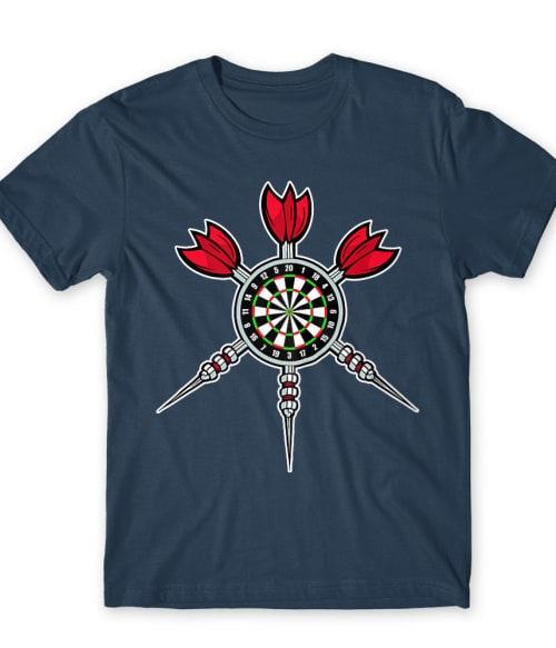 Dart Board Póló - Ha Darts rajongó ezeket a pólókat tuti imádni fogod!