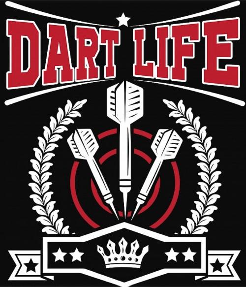 Dart Life Póló - Ha Darts rajongó ezeket a pólókat tuti imádni fogod!