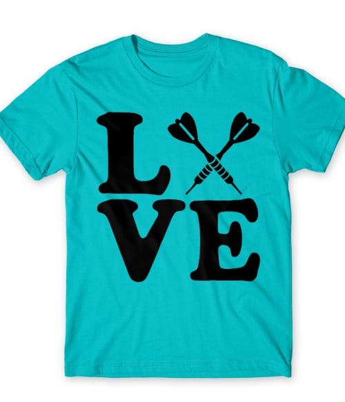 Love Darts Póló - Ha Darts rajongó ezeket a pólókat tuti imádni fogod!