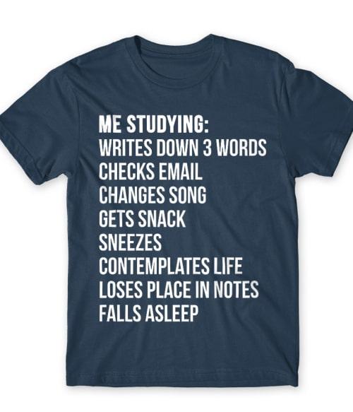 Me studying Póló - Ha Study rajongó ezeket a pólókat tuti imádni fogod!