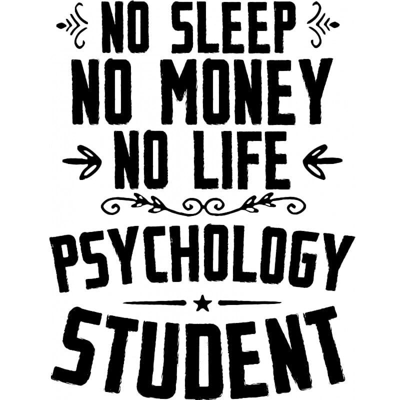Psychology student Póló - Ha Study rajongó ezeket a pólókat tuti imádni fogod!