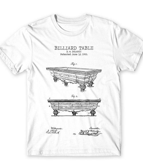 Billiard table Póló - Ha Billiard rajongó ezeket a pólókat tuti imádni fogod!