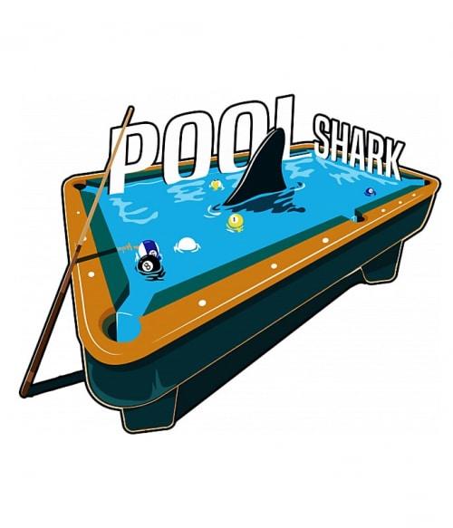 Pool shark Póló - Ha Billiard rajongó ezeket a pólókat tuti imádni fogod!