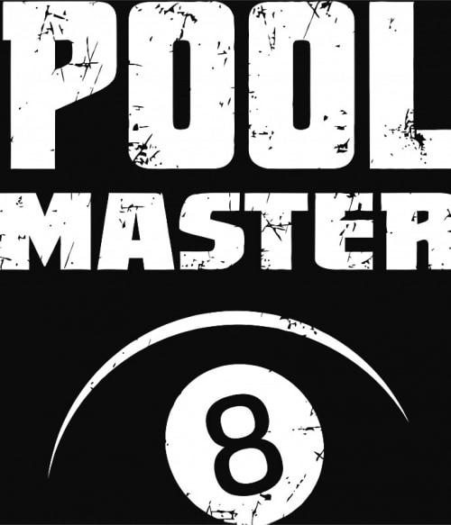 Pool master Póló - Ha Billiard rajongó ezeket a pólókat tuti imádni fogod!
